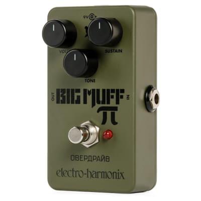 Electro-Harmonix EHX Green Russian Big Muff Pi Fuzz Guitar Effect Pedal Stompbox
