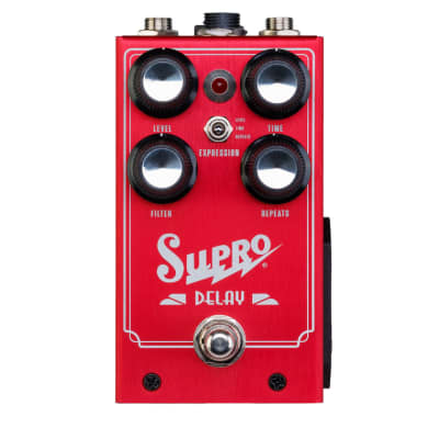Supro Analog Delay Pedal *New for 2019!*