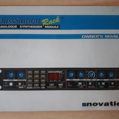 Novation Bass Station Rack Analogue Synthesizer Module Owner's Manual