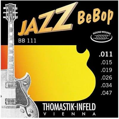 Thomastik-Infeld Jazz BeBop Acoustic/Electric Jazz Guitar Strings ex light 11-47