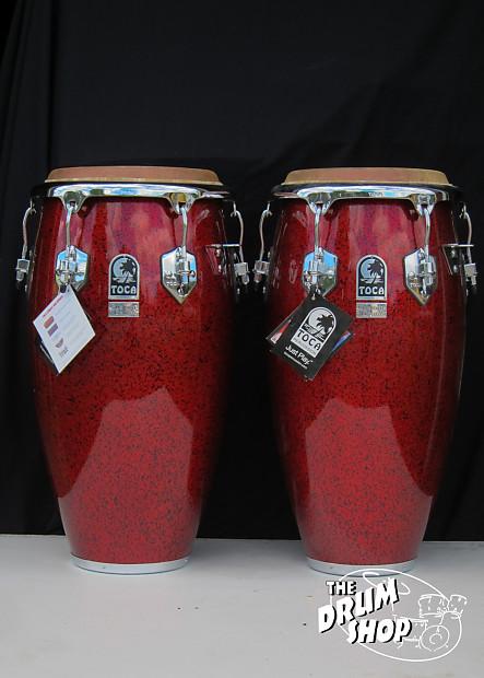 Toca Custom Deluxe Conga Pair | The Drum Shop Maine