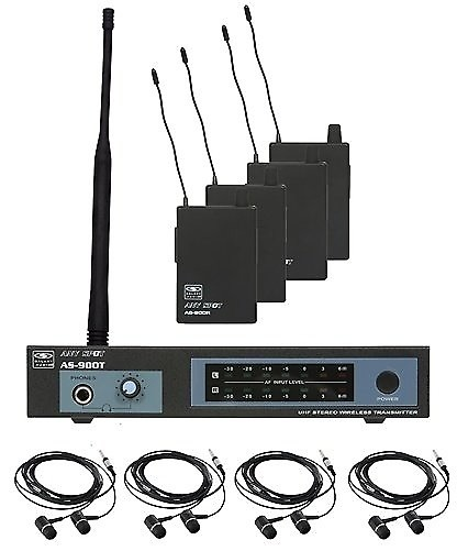 galaxy audio as 900 4 wireless in ear monitor system band reverb. Black Bedroom Furniture Sets. Home Design Ideas