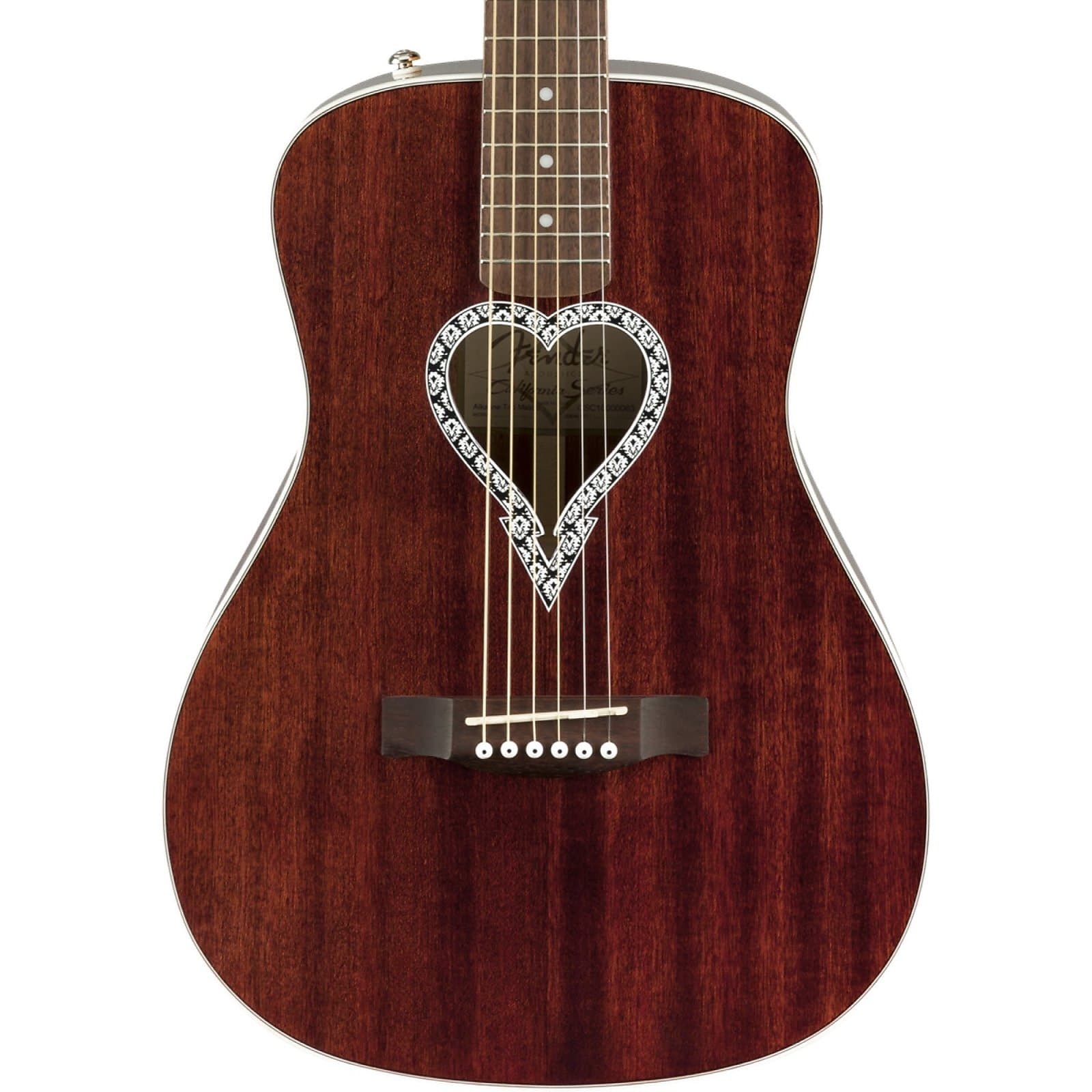 Fender Alkaline Trio Malibu Acoustic Guitar - Natural