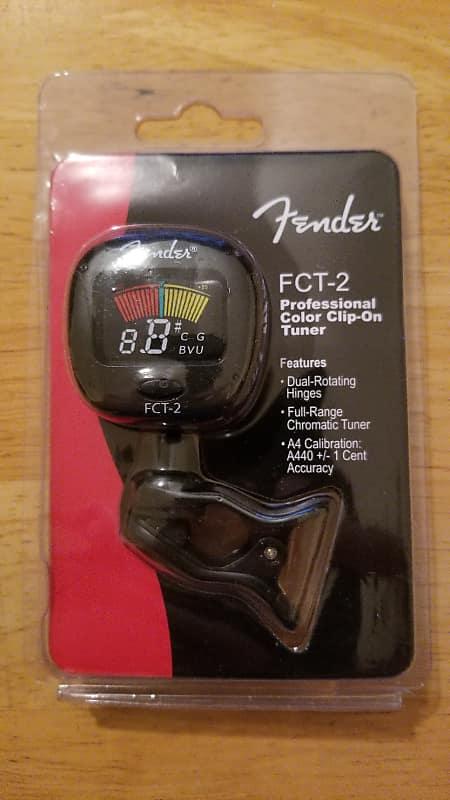 fender fct 2 pro color clip on tuner free shipping reverb. Black Bedroom Furniture Sets. Home Design Ideas