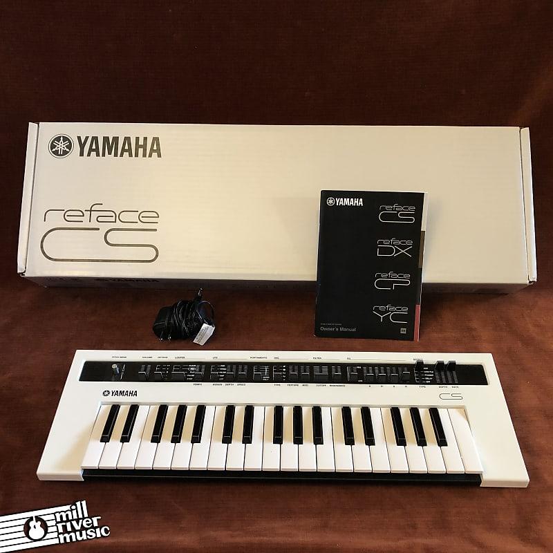 Yamaha Reface CS Mobile Mini Analog Modeling Synthesizer Keyboard w/ Box