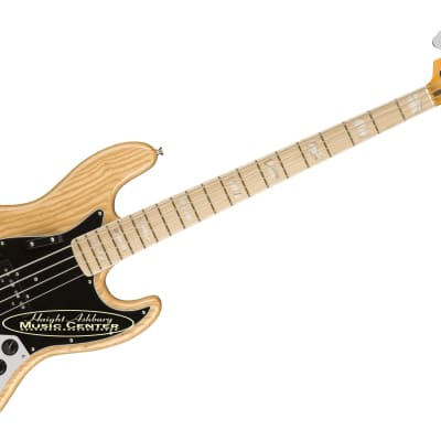 Fender American Original '70s Jazz Electric Bass Guitar, Maple Fingerboard, Natural for sale