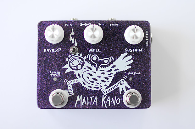 Bookworm Effects Malta Kano Distorted Reverb V2