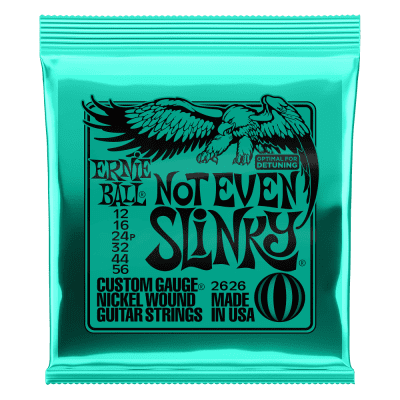 Ernie Ball 2626 Not Even Slinky Electric Guitar Strings, .012 - .056
