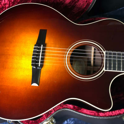 2015 Taylor 714ce N Nylon WSB Lutz Spruce Indian Rosewood V-Class Authorized Dealer - SAVE BIG