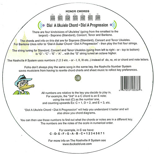 Ducks Deluxe DIAL A UKULELE CHORD • DIAL A PROGRESSION -2014- | Reverb