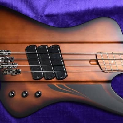 Dingwall D-Roc, Matte Vintage Burst with Pau Ferro *Tiny Factory Cosmetic Flaw, FULL WARRANTY=Save $