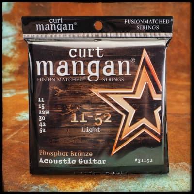 Curt Mangan Phosphor Bronze Acoustic Guitar 11-52