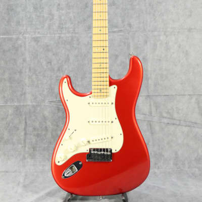 Fender American Deluxe Stratocaster Left Hand Modified Candy Apple Red - Shipping Included* for sale