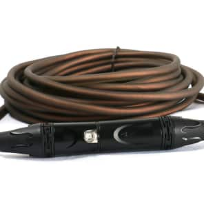 SuperFlex GOLD SFM-30-SMOKE Premium XLR Mic Cable - 30'
