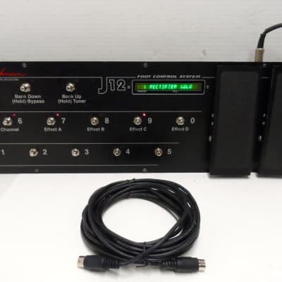 JOHNSON MILLENNIUM MILLENIUM J 12 J12 MIDI EFFECT FOOT AMP CONTROL Controller PEDAL JM250 250 JM150