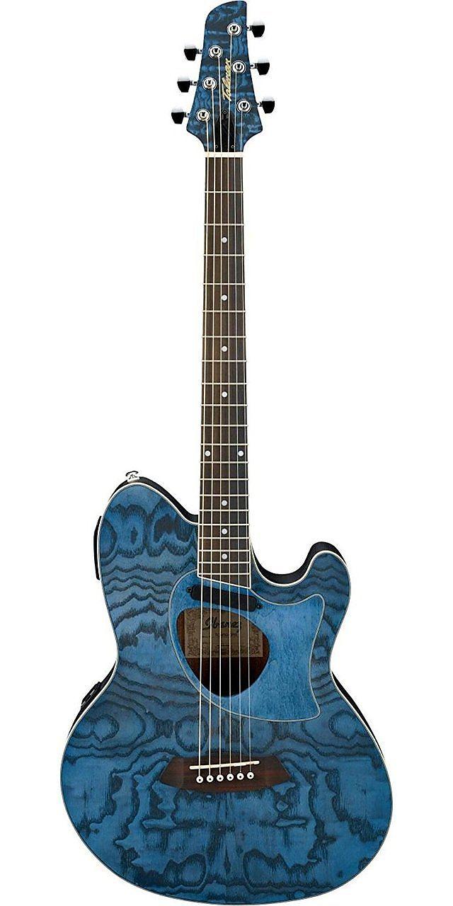 Ibanez Talman Series Tcm50dno Acoustic Electric Guitar Dark Night Ocean