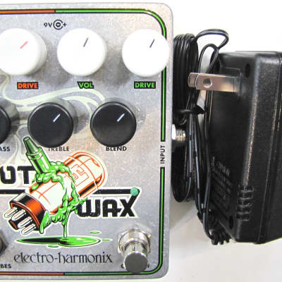 Used Electro-Harmonix EHX Hot Wax Hot Tubes Crayon Dual Overdrive Effect Pedal! image