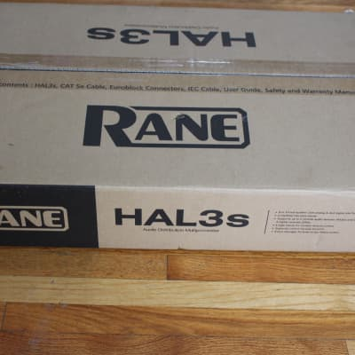 Rane HAL3s Digital Processor