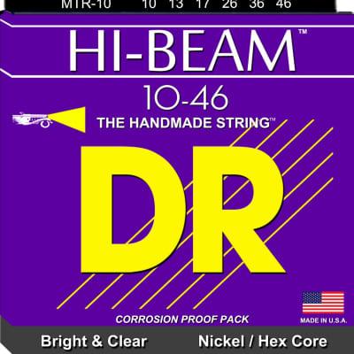 DR Hi-Beam 10-46 Bright & Clear Nickel/Hex Core MTR-10 10 13 17 26 36 46