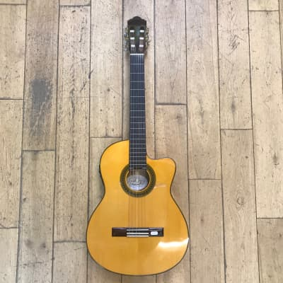 Angel Lopez CF1246CFI-S Electro-Classical Flamenco for sale