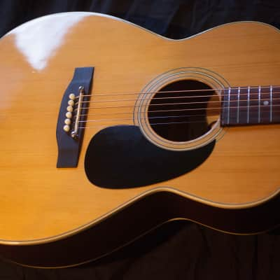 Vintage Acoustic Guitar- Just Been Setup, Bone nut, Saddle and Pins, Leveled Frets for sale