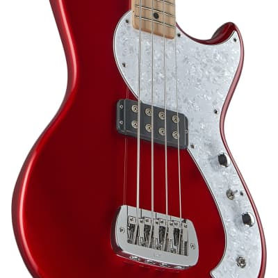 G&L Tribute Fallout Bass 2020 Candy Apple Red