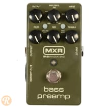 MXR Bass Preamp M81 2010s Olive image