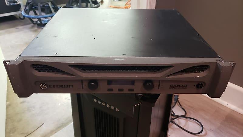 crown xti 6002 2 channel 1200w power amplifier desoto audio reverb. Black Bedroom Furniture Sets. Home Design Ideas