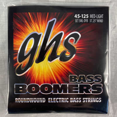 GHS 5ML-DYB 5-string Bass Strings 45-125 Nickel