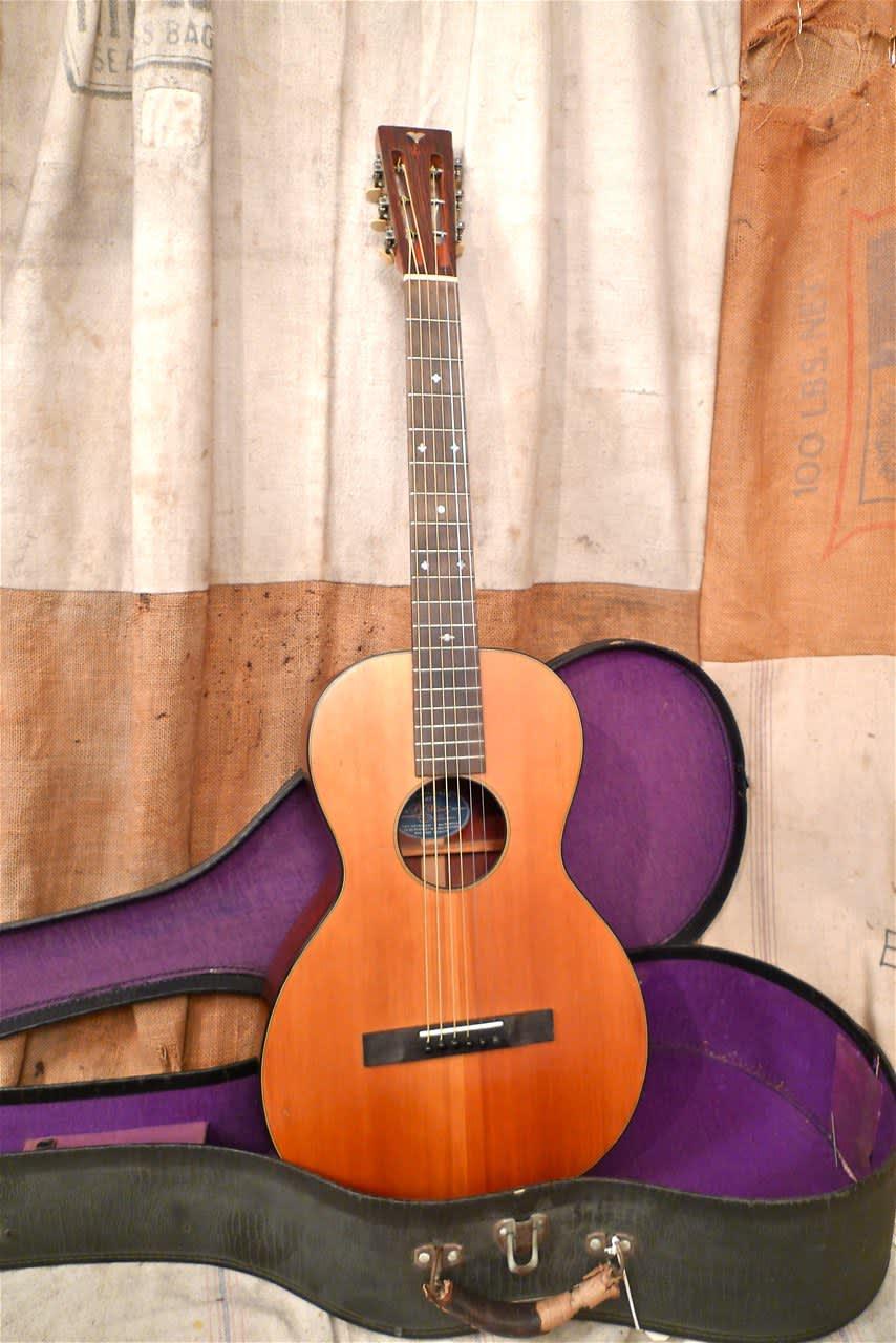 Ss Stewart Parlor Guitar 1934 Reverb