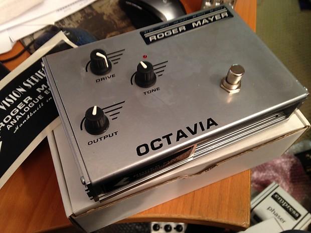 Roger Mayer Vision Series Octavia (Hendrix-style Octave Fuzz)