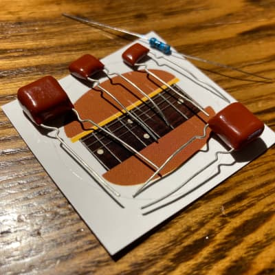 "Guitarburger Boss DS-1 Distortion ""British"" Mod Kit"