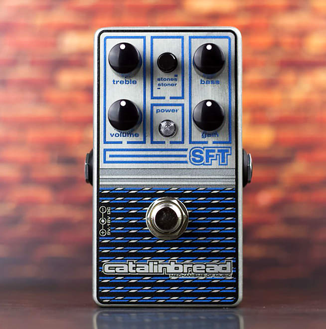 Catalinbread SFT Ampeg-Inspired Foundational Overdrive - New Metallic Sapphire Finish for 2021!