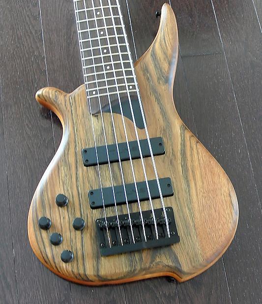 tune hatsun twb63lh ob left handed 6 string bass ovangkol reverb. Black Bedroom Furniture Sets. Home Design Ideas