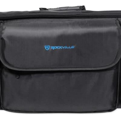 Rockville Carry Bag Backpack Case For Alesis Q49 Keyboard Controller