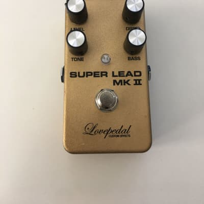 Lovepedal Custom Effects Super Lead MK II Overdrive Rare Guitar Effect Pedal