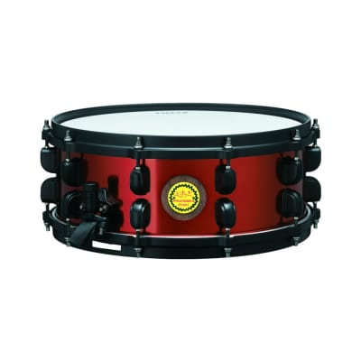 "Tama RB1455 Ronald Bruner Jr. Signature 14x5.5"" Walnut/Steel Hybrid Snare Drum 2019"