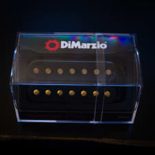 DiMarzio Illuminator 7 Bridge Pickup Black w/ Gold Screws