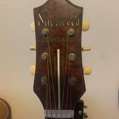 "1950s 17"" Sherwood Standard Archtop Acoustic   Sunburst for sale"