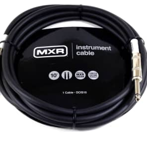 Instrument Guitar Cable  MXR 10 feet (~3m)  Straight Ends