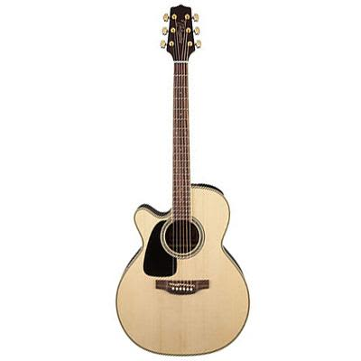 Takamine GN51CE Left Handed Mahogany NEX Cutaway Natural Electro Acoustic Guitar for sale