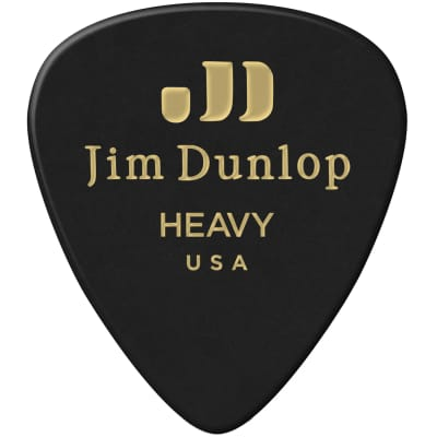 Dunlop 483P03HV Celluloid Standard Classics Heavy Guitar Picks (12-Pack)