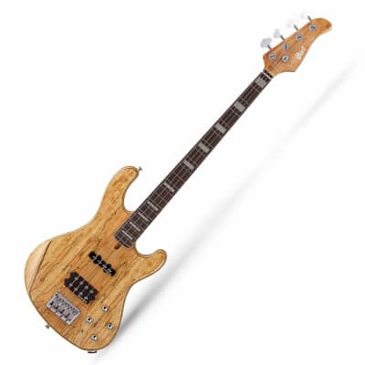 Cort GB4 LTD 18 Limited Edition 4 string electric bass Guitar Natural RRP $1799
