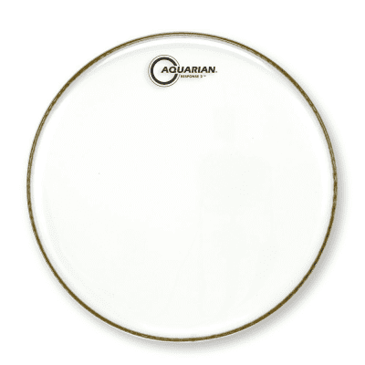 Aquarian RSP2-12 Response 2 Series 12 in. Clear Drum Head