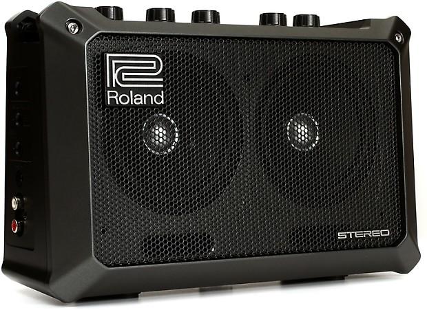 roland mobile cube 5 watt 2x4 portable combo amp reverb. Black Bedroom Furniture Sets. Home Design Ideas