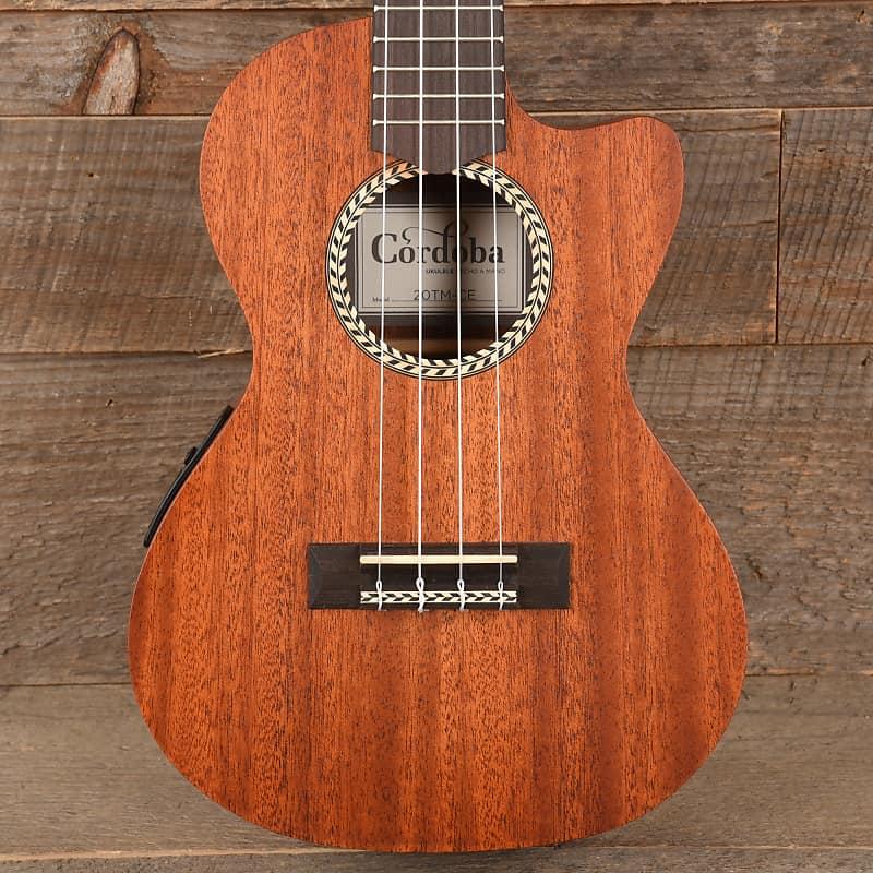 cordoba 20tm ce tenor ukulele solid mahogany top used reverb. Black Bedroom Furniture Sets. Home Design Ideas