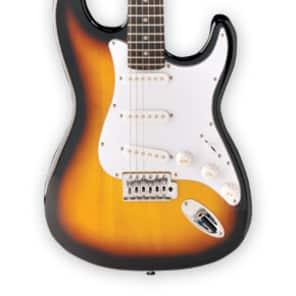Jay Turser JT-300-TSB 300 Series Double Cutaway 6-String Electric Guitar - Tobacco Sunburst for sale