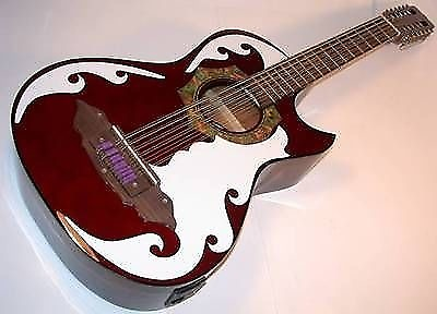 barraza bajo sexto 12 string acoustic electric guitar spruce reverb. Black Bedroom Furniture Sets. Home Design Ideas