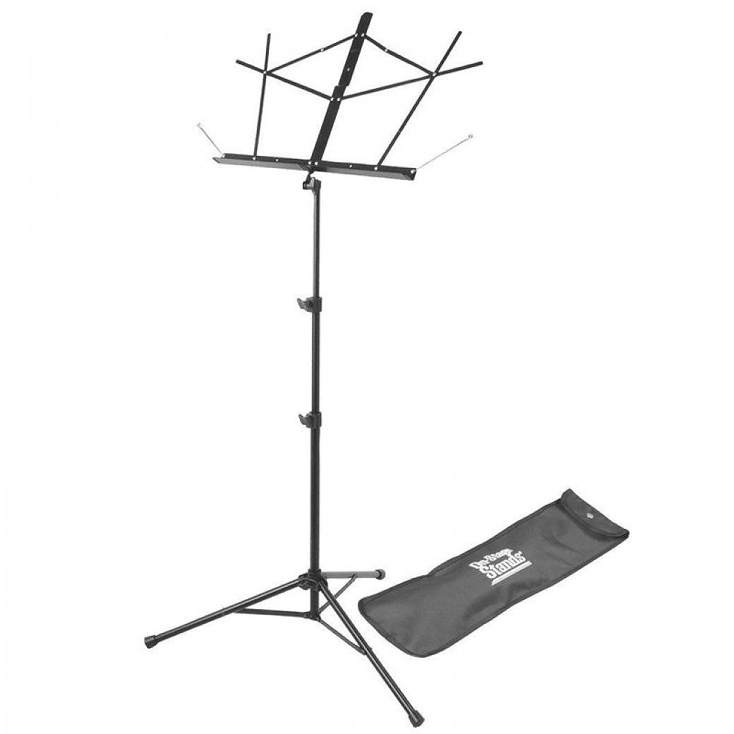 On-Stage SM7122BB Compact Folding Sheet Music Stand w/ Bag