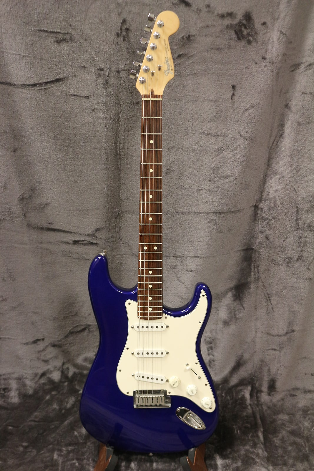 fender american standard stratocaster 1993 midnight blue. Black Bedroom Furniture Sets. Home Design Ideas